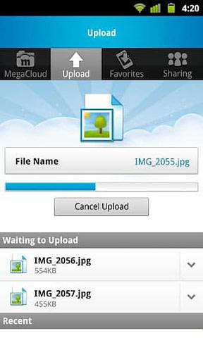 MegaCloud: más espacio para almacenar ficheros en la nube