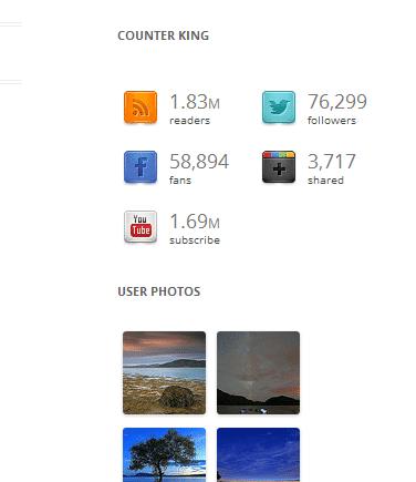 Social Jet: un contador social para WordPress